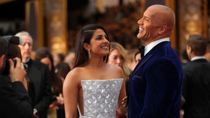 Oscars 2017 Style files - Priyanka Chopra And Dwayne Johnson