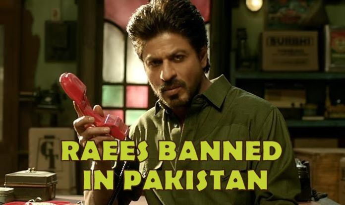 Shahrukh Khan's Raees Banned In Pakistan