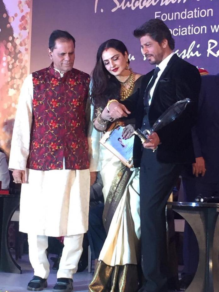Shahrukh Khan Receives Yash Chopra Award 2