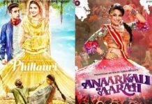 Anaarkali of aarah, phillauri box office prediction