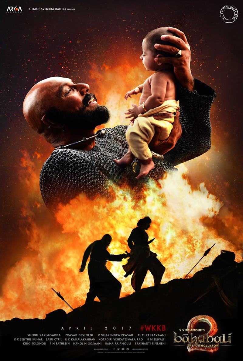 We have great news....Bahubali 2 Trailer out on 16 March!- Bahubali 2 trailer 2