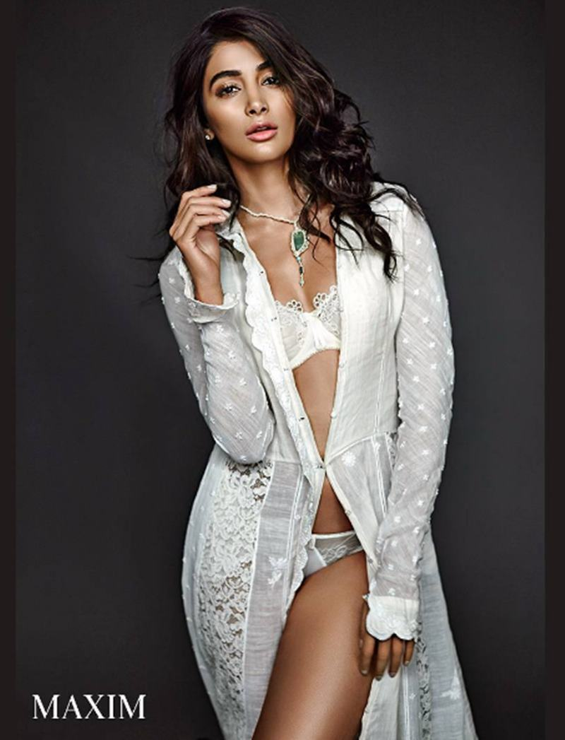 This hot Maxim photoshoot of Pooja Hegde sheds her girl-next-door image- 6