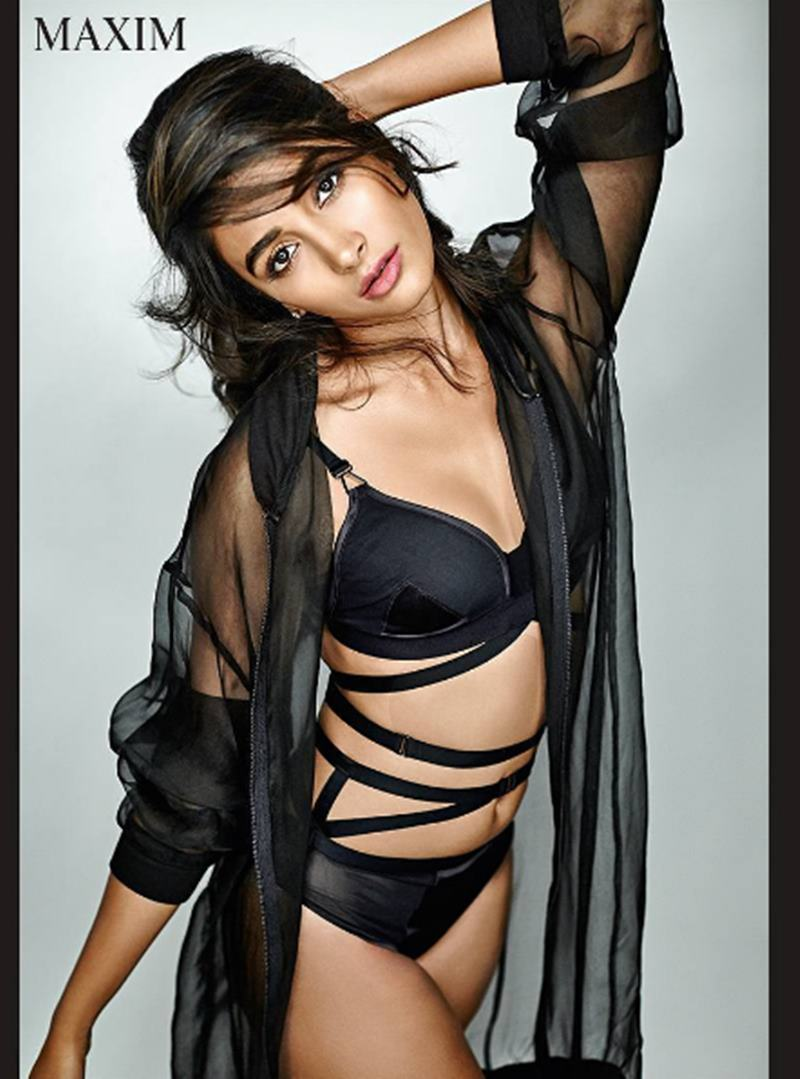 This hot Maxim photoshoot of Pooja Hegde sheds her girl-next-door image- 7