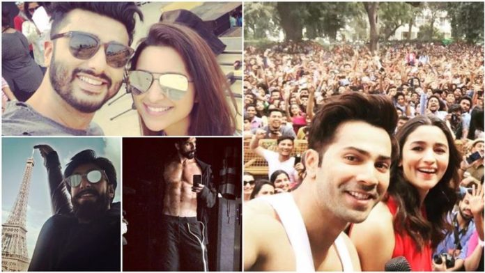 Which actor is the Selfie King of Bollywood?