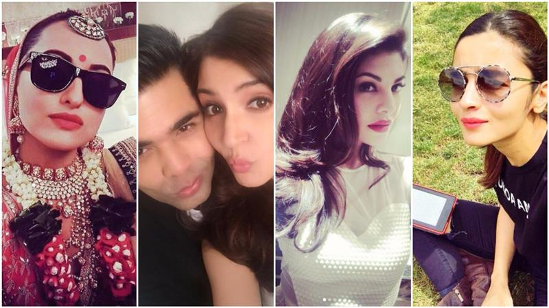 Top 10 Selfie Queens Of Bollywood:  Actresses Who Love Pouting, Posing On Instagram