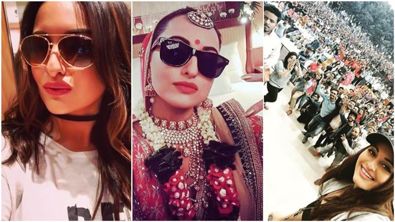 Who is the Selfie Queen of Bollywood?- Sonakshi