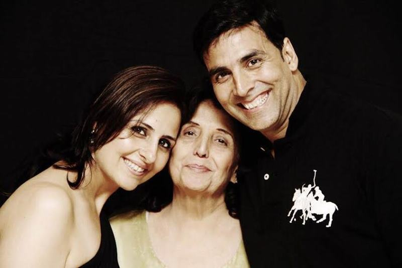 Presenting all details about Akshay Kumar's family that you may not know already!- Mother