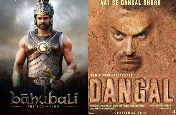 Baahubali was the first 400 crore grosser in India, ahead of Aamir Khan's Dangal