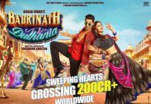 Badrinath Ki Dulhania Grosses 200 Crores Worldwide, Biggest Hit For Varun Dhawan & Alia Bhatt