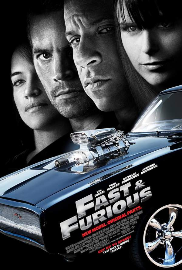 Fast & Furious 4 poster