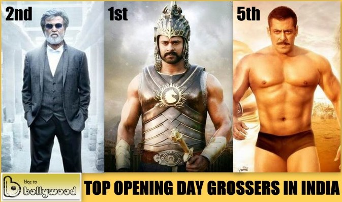 Highest Opening Day Grossers In India: Baahubali 2 Beats Kabali To Become Highest Opening Day Grosser