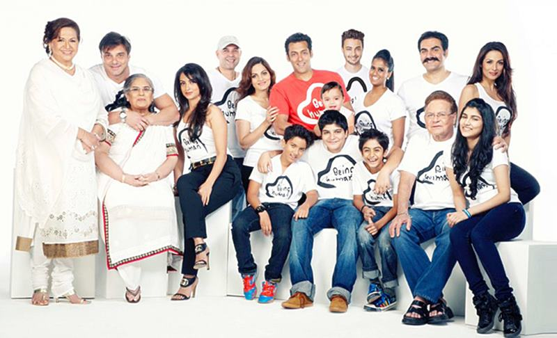 Meet Salman Khan's family and get to know all about them in here!