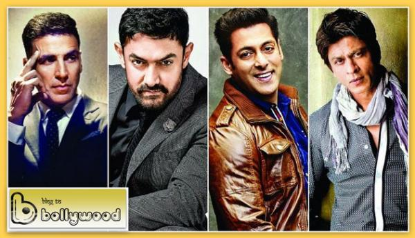 Shah Rukh Khan Vs Salman Khan Vs Aamir Khan Vs Akshay Kumar Box Office Comparison