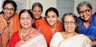 "The shooting of Vidya Balan's next film ""Tumhari Sulu"" kicks off with a pooja!"