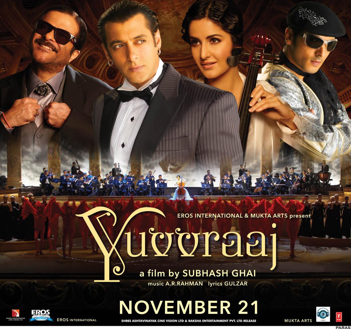 Salman Khan's Biggest Flop Movies - Yuvvraaj