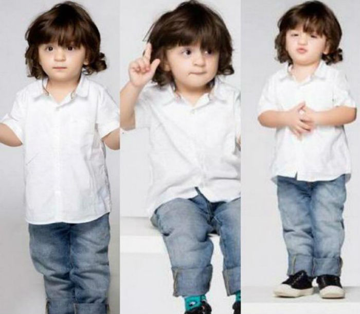 Abram Khan is cuteness overloaded