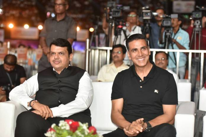 Akshay Kumar at Transform Maharashtra event 1