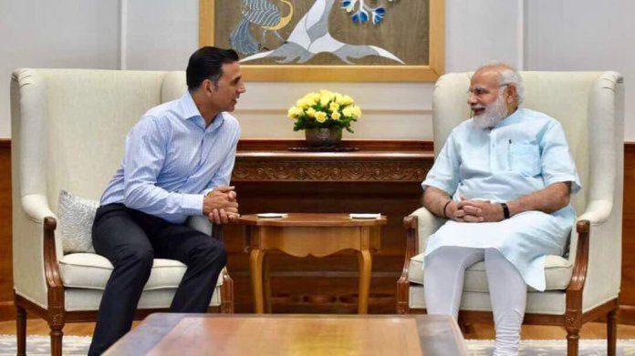 Akshay Kumar meets PM Modi