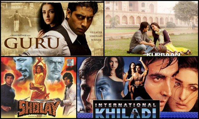 Best Bollywood movies featuring real life couples