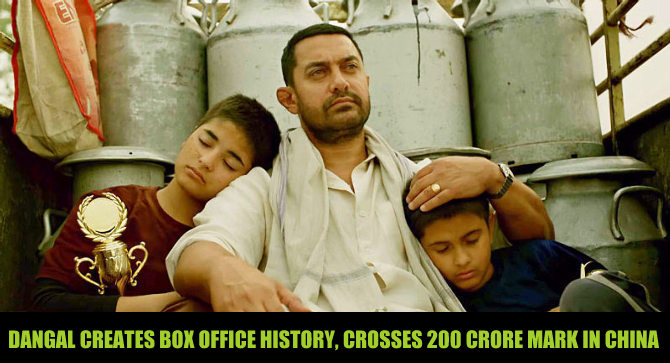Dangal 8th day collection in China, crosses 200 crore