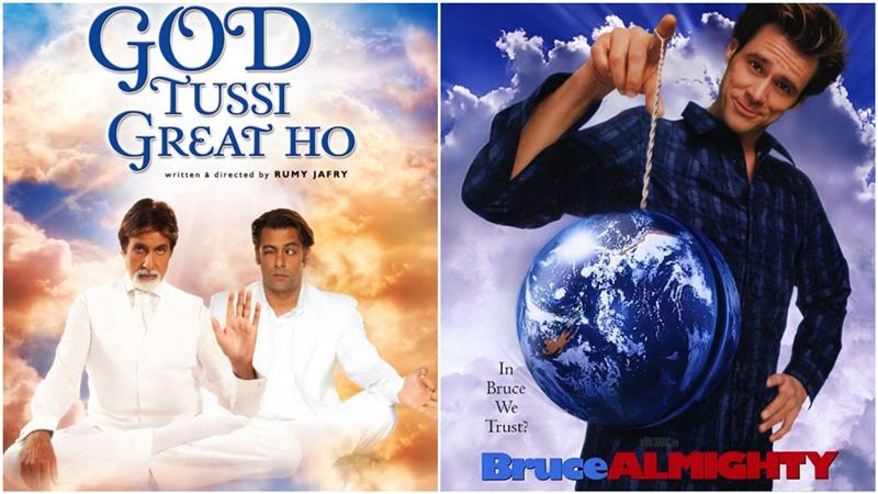 God Tussi Great Ho is based on Bruce Almighty