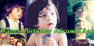 Happy Birthday Abram Khan