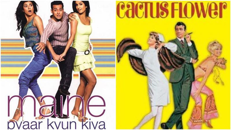 Maine Pyaar Kyun Kiya is based on Cactus Flower