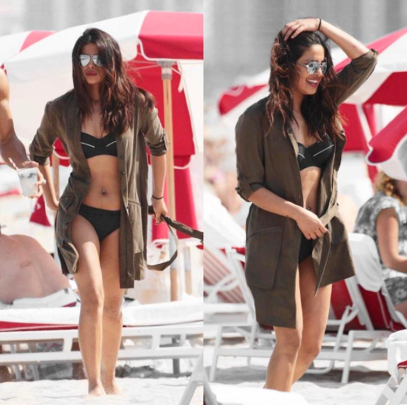 Priyanka Chopra on Miami beach melts heart with her uber sexiness!-10