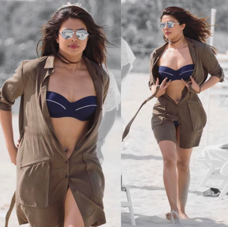 Priyanka Chopra on Miami beach melts heart with her uber sexiness!-9