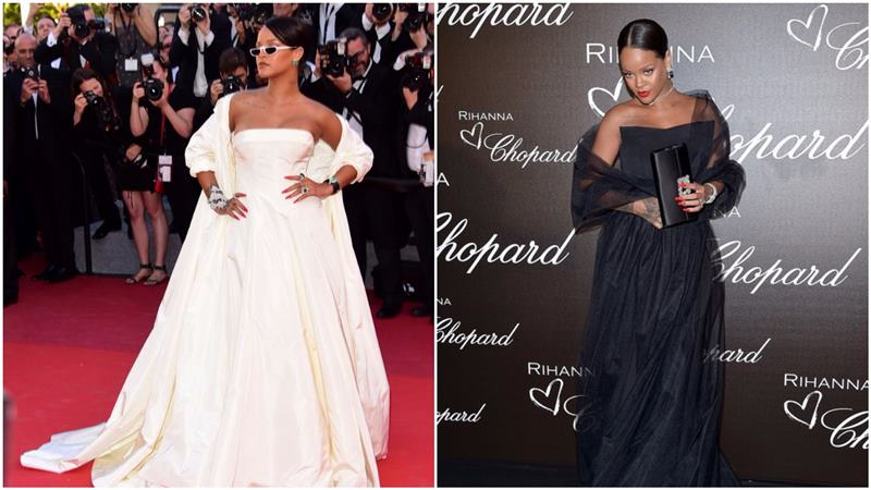 Best and Worst Dressed at Cannes 2017- Rihanna