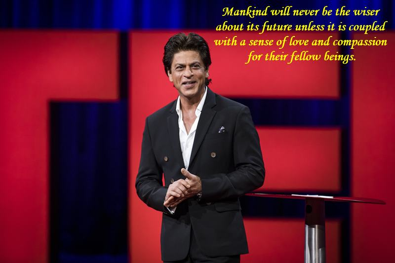 Shah Rukh Khan's TED Talk video is finally out and you cannot miss this one!