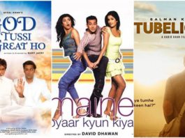 Salman Khan Films based on Hollywood Movies