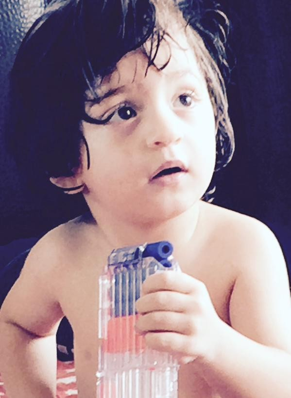 This is one of Abram's early pics