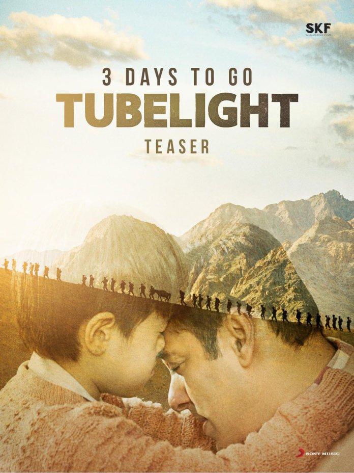 3 days to Tubelight teaser