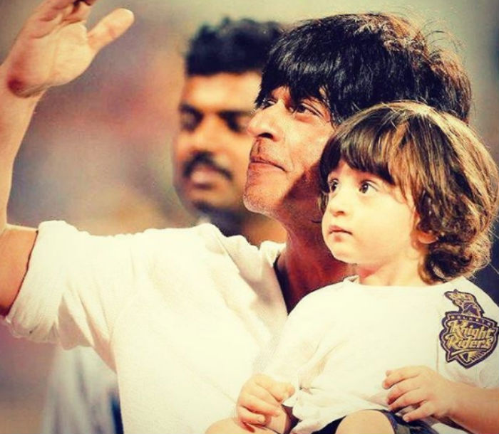 abram khan with SRK