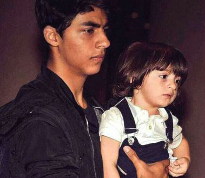abram khan with brother Aryan Khan