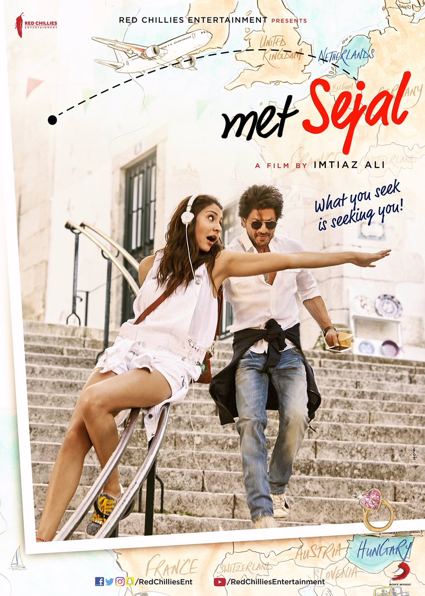 Shahrukh Khan Upcoming Movies 2017, 2018 & 2019 With Release Date - Jab Harry Met Sejal On 4 Aug 2017