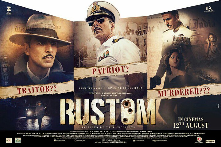 7 Akshay Kumar Movies That Will Make You Proud - Rustom