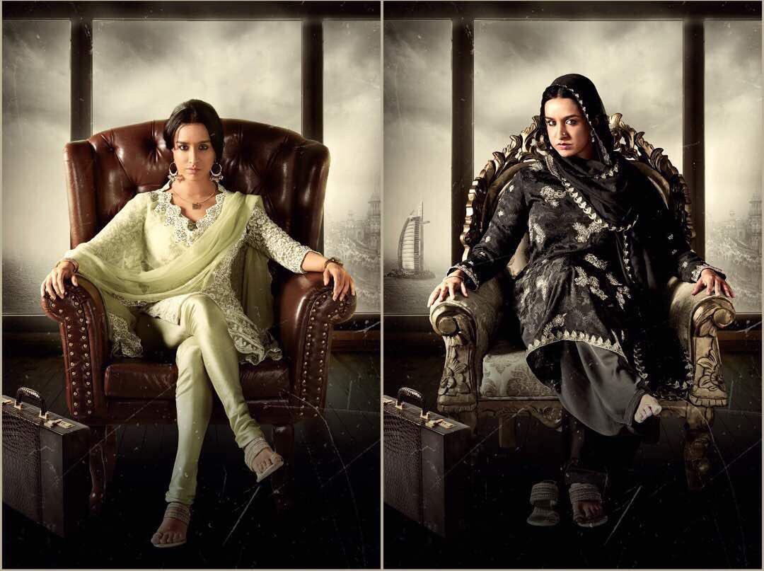Shraddha Kapoor as Haseena Parkar