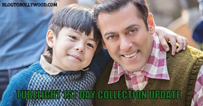 Tubelight 1st day box office collection update