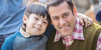 Salman Khan with child artist in Tubelight