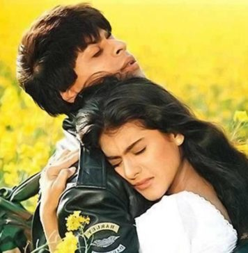 Shah Rukh Khan played the lover boy - Dilwale Dulhaniaya Le Jayenge
