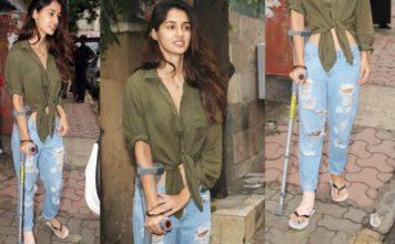 Professionalism Redefined: Bollywood Actresses Who Got Injured While Shooting - Disha Patani injured