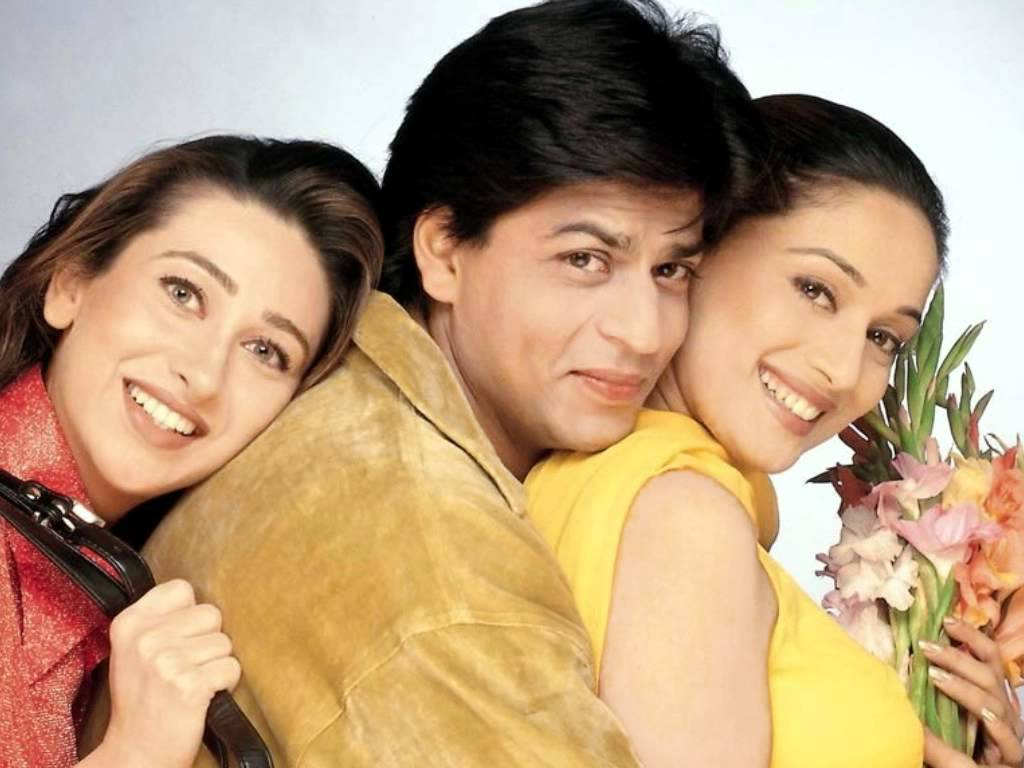 Shah Rukh Khan played the lover boy - Dil To Pagal Ho