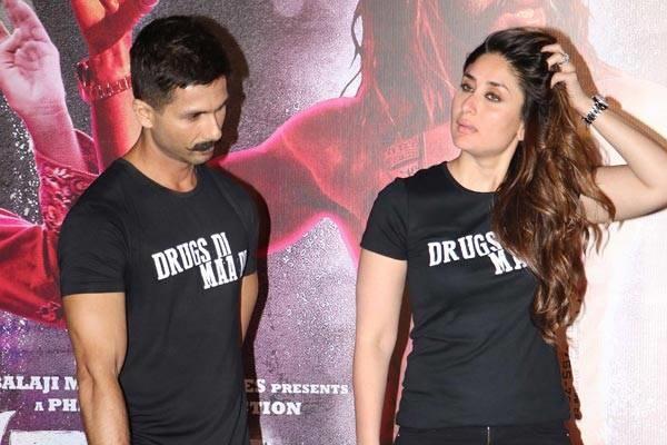 Kareena and Shahid at 'Udta Punjab' trailer launch