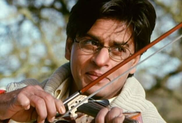 Shah Rukh Khan played the lover boy -Mohhabetein