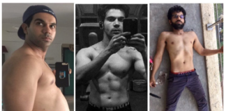 Rajkummar Rao's body transformation pics turns into a hilarious meme on Twitter