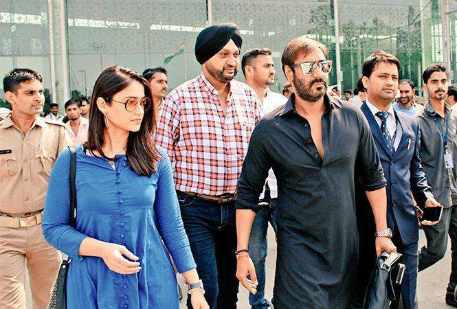 Ajay Devgn upcoming movie - Raid
