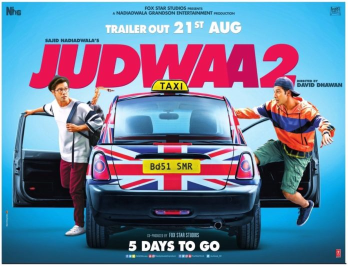 Judwaa 2 Poster: Varun Dhawan Is All Set To Tickle Your Funny Bone
