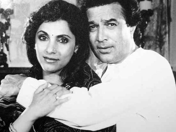 Bollywood couples with shocking age difference - rajesh and dimple